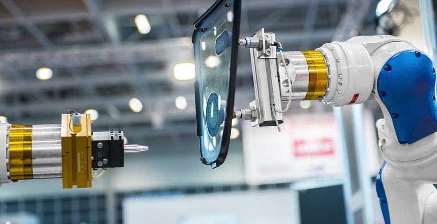 imalat endüstrisinde robotik