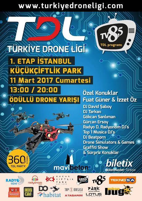 Türkiye Drone Ligi'ndeyiz
